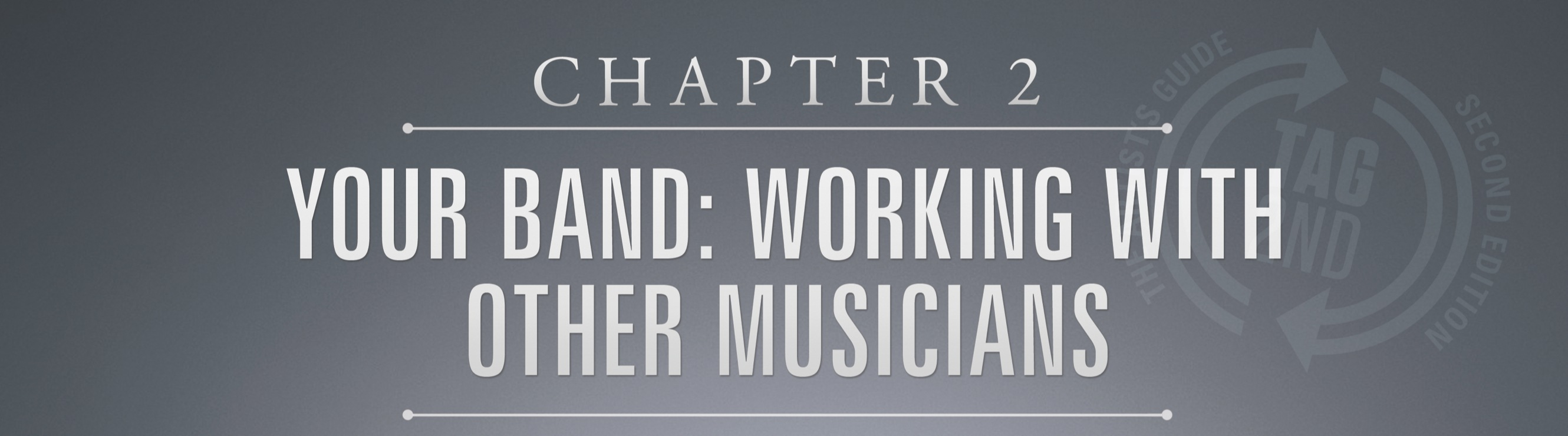 chapter 2, your band, artists guide, audio book, loren weisman