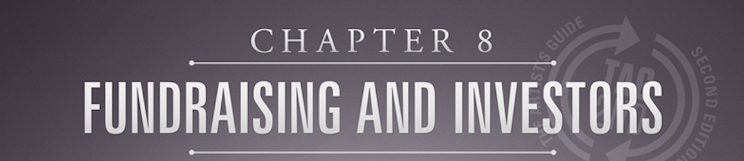 Fundraising and investors is chapter 8 of tag2nd